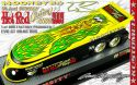 KUSTOMCITY® EVO GT DRAG BUS - MOONEYES HCS - SATIN YELLOW/BLACK