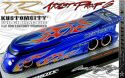 KUSTOMCITY® EVO GT DRAG BUS - AP6 - KANDY BLUE